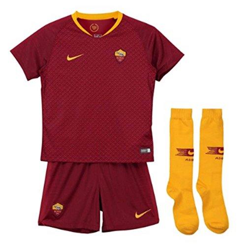 d7b4bba8bef Nike 2018-2019 AS Roma Home Little Boys Mini Kit