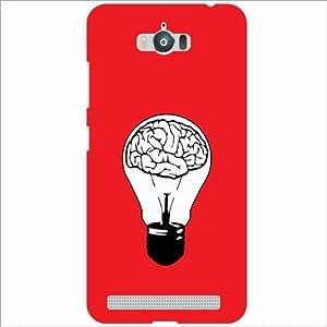Asus Zenfone Max ZC550KL Back Cover - Bulb Designer Cases