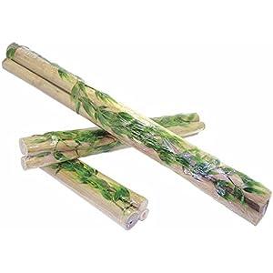 Dragon - Bambusstangen / Bambusrohr-Set 3Stk Ø2-4cm Medium ca. 55cm mit kleiner Ranke