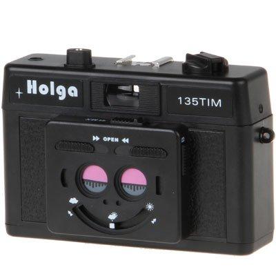 Holga TIM KB-Stereokamera schwarz