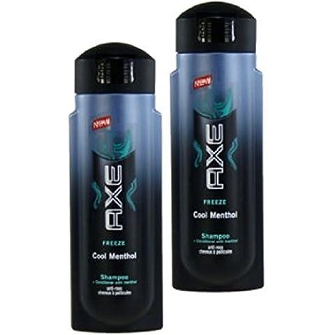 Axe Hair Shampoo–Shampoo Antiforfora da ICE Fresh Plus Spülung con
