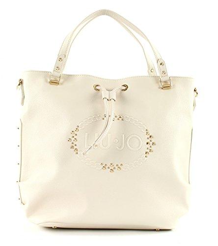 Liu Jo Lucciola borsa a secchiello 32 cm Bianco