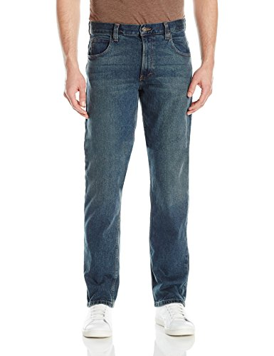 Dickies Herren Jeans Relaxed Straight 5 Pocket Stretch - Blau - 38W / 32L -