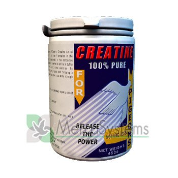 Vydex Creatine Powder 450 gr, (100% Pure Creatine to Enhances power, performance and strength) from Vydex