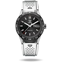 TAG Heuer CONNECTED Luxury Smart Watch (Android/iPhone) (White)