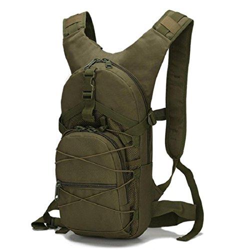 LF&F Backpack Camping outdoor Zaini Borse Tattiche di viaggio esterne di svago tute di sport del camuffamento borsa dell'acqua impermeabile indossare Tear resistente 15L zaino doppio della spalla A 15 G