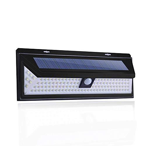 Solarleuchten, 90/118 LED-Wandleuchte für Outdoor-Sicherheitsbeleuchtung Nachtlicht für Gartenhaus...