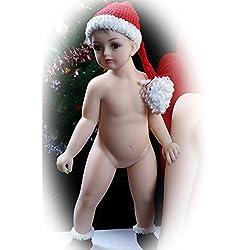 Reborn Baby Doll Silicona Suave 31.5 Pulgadas 80Cm Magnetic Lovely Realista Lindo Encantador