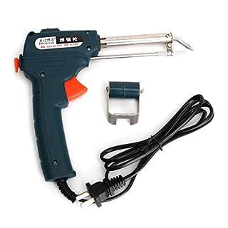 JunYe 220V 61W Auto Welding Electric Soldering Iron Temperature Gun Solder Tool Kit
