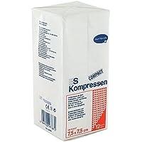 ES-KOMPRESSEN unsteril 7,5x7,5cm 12f, 100 St preisvergleich bei billige-tabletten.eu