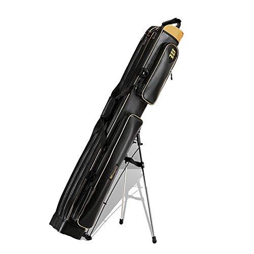 Tasche 1,25 m Angelrute, Outdoor-Entertainment-Angelpaket, mit Handtragegurt und Schultergurt (Size : 3 Tier) ()