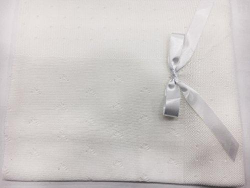 Toquilla perle color blanco