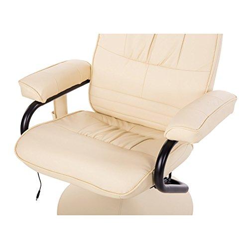 Homcom Massagesessel 921-006CW  inkl. Hocker Creme - 7