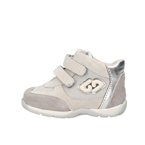 BALDUCCI sneakers bambino 17 EU grigio camoscio tessuto AF301