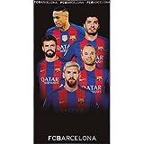 Toalla Playa Grupo FC Barcelona Oficial 75 X150