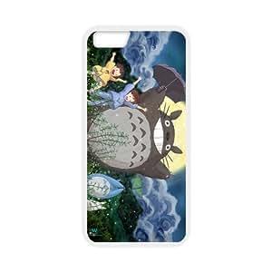 "Coque IPhone 6S,Totoro Coque IPhone 6 6S-Coque iPhone 6(4.7""),Silicone gel TPU transparent haute densité-Coque Housse Etui pour Apple IPhone 6/6S(4.7 inch)"