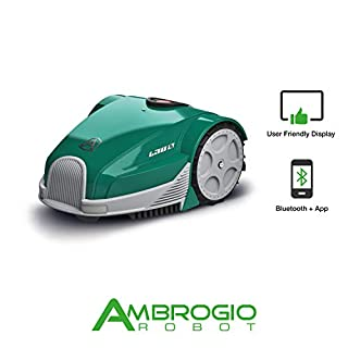 Ambrogio Robot AM030B0F8Z Zucchetti Ambrogio L30 Basic Lawnmower 500 sqm
