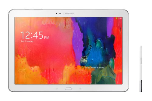 Samsung Galaxy Note Pro P905 30,98 cm (12.2 Zoll) Tablet (2,3 GHz Quad Core, LTE, 32GB Speicher, 8 Megapixel Kamera, 2 Megapixel Frontkamera, S-Pen) weiß