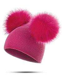 Amazon.it  cappello pon pon bambina - Cappelli e cappellini ... 6dc1d131a7e2
