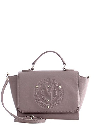 Sac VERSACE JEANS Q Dis.3 Saffiano Embossed Naked Pink