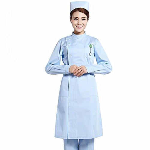 Xuanku Männer Und Frauen Tragen Die Intensivstation Zimmer Ärzte, Krankenschwester, Uniformen, Drogerie, Kleider, Schöne Anzüge, Männer - Und Frauen - Ärzte,Blau,L (Arzt, Zimmer)