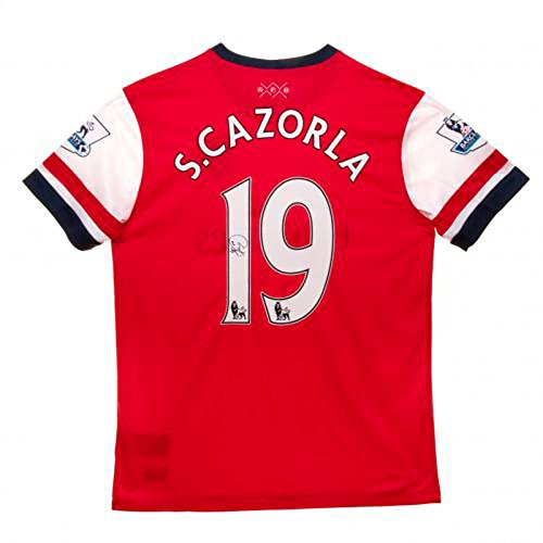 Cazorla-Signed-Arsenal-Shirt