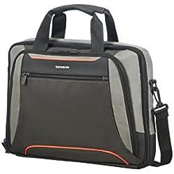 "SAMSONITE Kleur - Bailhandle for 15.6"" Laptop 0.6 KG Bolso Bandolera, 41 cm, 12.5 Liters, Gris (Grey/Anthracite)"