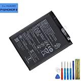 LiIon Ersatz AKKU Batterie HB386280ECW Kompatibel mit Huawei P10 Honor 9 VTR-L09 VTR-L29 with Tools