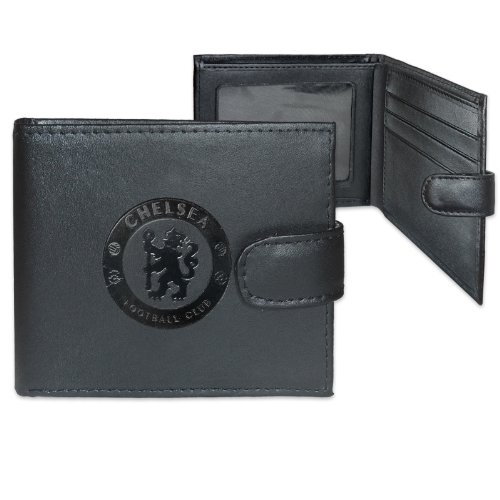 Chelsea Crest Geldbörse aus Leder, geprägt, Mehrfarbig -