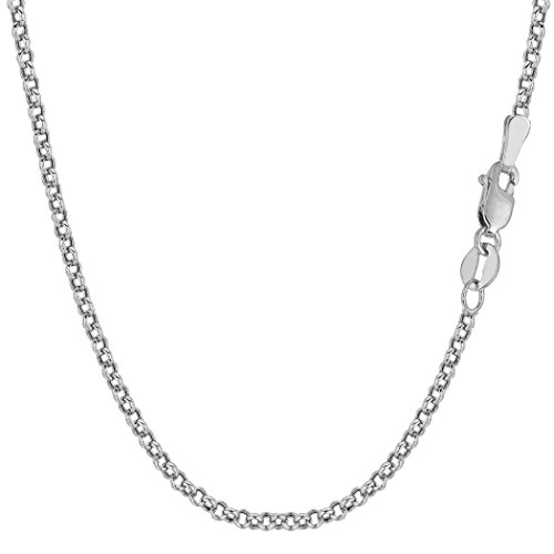10k-white-gold-round-rolo-link-chain-necklace-23mm-20