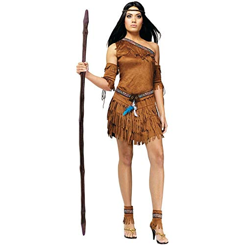 Smith Kostüm John - Sexy Pow Wow Indian Fancy dress costume Small/Medium