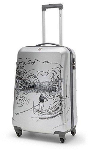 Trolley-Koffer Venedig-ToDo - zum selbstbemalen - 55 cm / 2,7 kg / 35 Liter - Ital. Design - CIAKRONCATO
