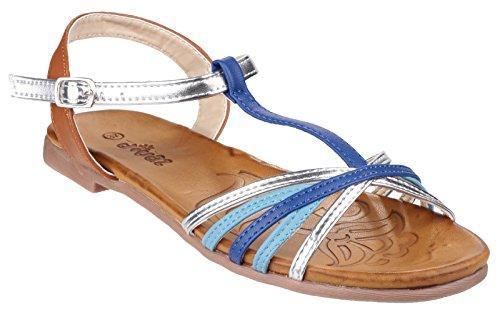 Trespass Damen Cher Riemen-Sandalen Blau/Metallic
