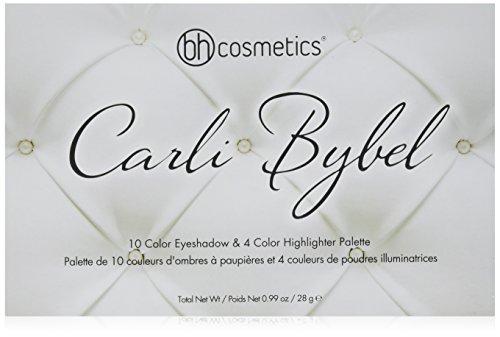 BH Cosmetics Carli bybel 14 color eyeshadow & highlighter palette (CARLI BYBEL) Test