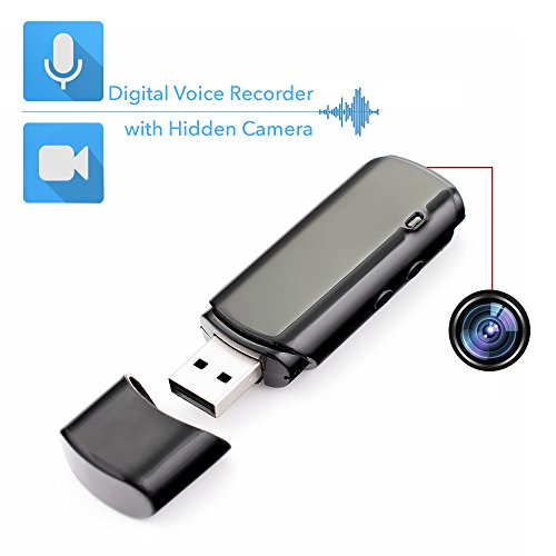Mini Espía Grabador de Voz Digital con Cámara...