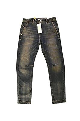 Adidas Neo Womens Denim Blue Drop Crotch Tapered Jeans W28 L30