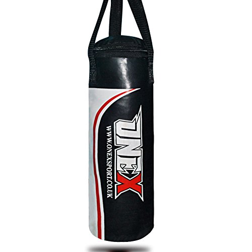 onex-kids-heavy-boxing-40cm-punch-bagblack-filled-hanging-mma-punching-training-gloves-kickboxing-ch
