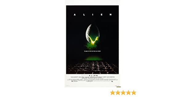 Alien Movie Large Classic A1 Size Glossy Poster 35 x 23 inch: Amazon ...