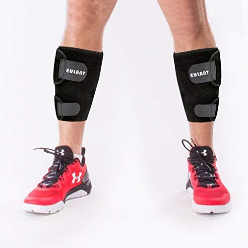 EULANT Wadenbandage, Waden Kompressionsstrümpfe, Sportbandage Calf, Waden Kompressionsbandage für Calf Muskelschmerzen Erleichterung zum Laufen Joggen Radfahren, 1 Paar