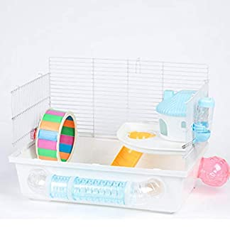 aosygfr hamster cage luxury villa castle double squirrel hamster supplies tunnel cage AosyGFR Hamster Cage Luxury Villa Castle Double Squirrel Hamster Supplies Tunnel Cage 418OzLouD9L