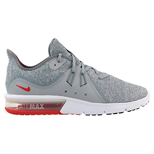 Nike Herren Air Max Sequent 3 Laufschuhe, Mehrfarbig (Cool Grey/University 060), 42.5 EU - Jordan-iii-cool Grey