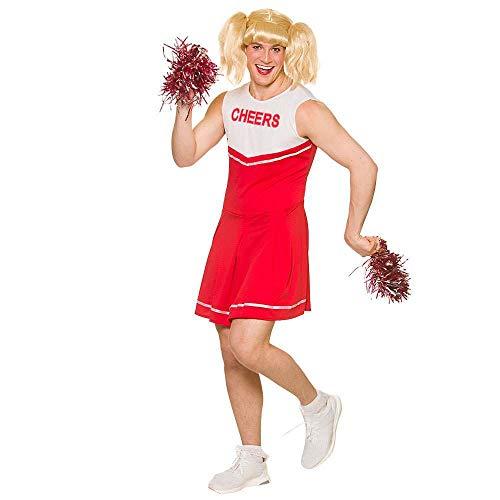 Erwachsene Unisex Neuheit Red Hot Cheerleader Kostüm Kostüm Medium - 41