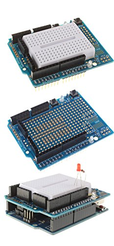 418P sZInyL - [Sintron] Arduino Uno R3 Board Starter Kit with PDF files & Tutorial CD en español + Transparent Acrylic Case LCD Servo Motor Sensor Module etc, for Arduino Starter Learner