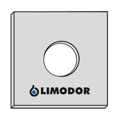 5x Original - Filter - Filtereinsatz LIMODOR F LF ELF - Limot Lüfter 226x226mm - Ersatzfilter - Art.-Nr.: 00010