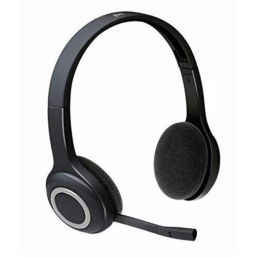 Logitech H600 Wireless Headset für PC und Mac (zertifiziert generalüberholt) H600 Schwarz H600 Wireless Headset