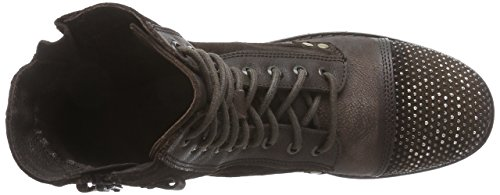 Clarks Moscow Dime Damen Biker Boots Braun (Brown Leather)