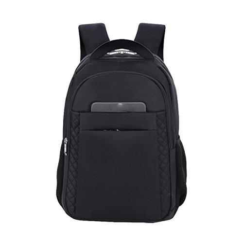 Umhängetasche Wasserdichte Student Tasche Computer Tasche Reisebeutel Rucksack Große Kapazität Paket Black