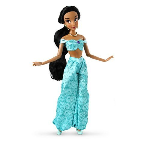 Disney princess Jasmine Classic Doll (Posable Figur Puppe)
