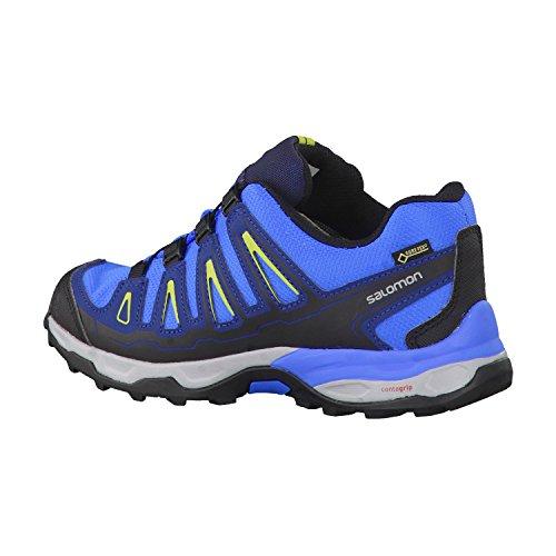 Salomon X Ultra GTX, Scarpe da Trail Running bambini Blu Blu/Blu scuro 2 UK - 34 EU Blu - Blu/Blu scuro