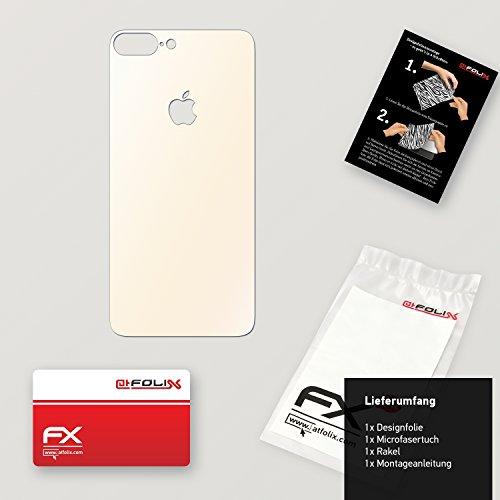 """Skin Apple iPhone 7 Plus """"FX-Wood-Root"""" Designfolie Sticker FX-Variochrome-Pearl"""